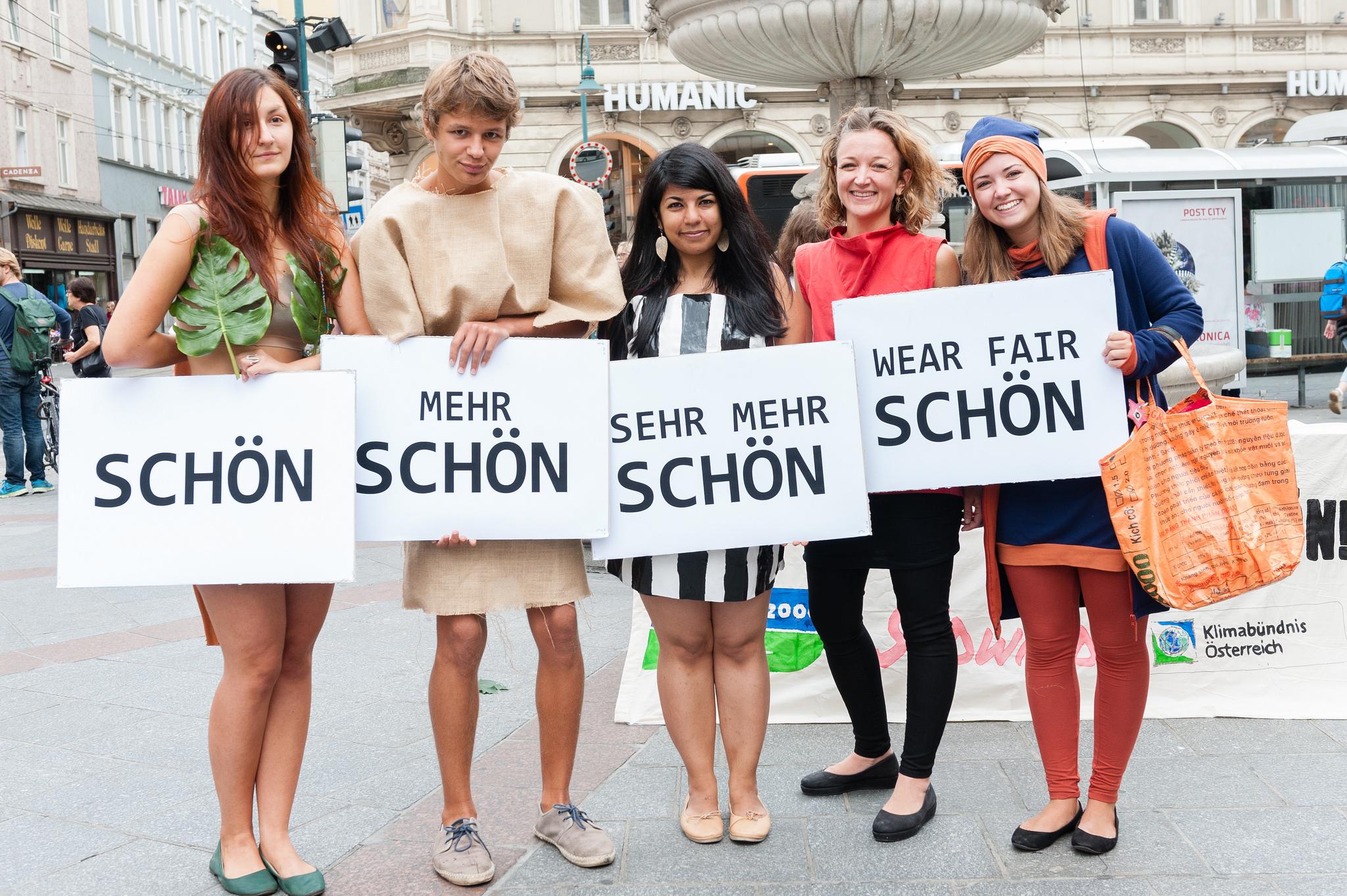 Mode-Contest in Linz überzeugt – WearFair macht schön