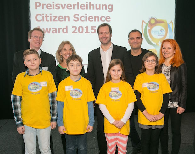 Verleihung des Citizen Science Awards 2015