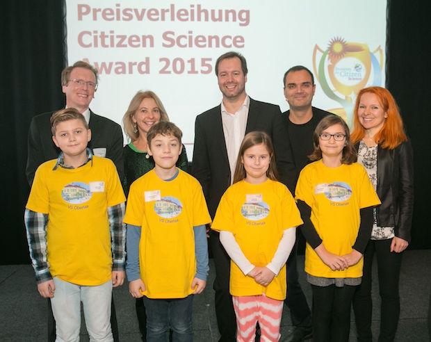 Verleihung des Citizen Science Awards 2015