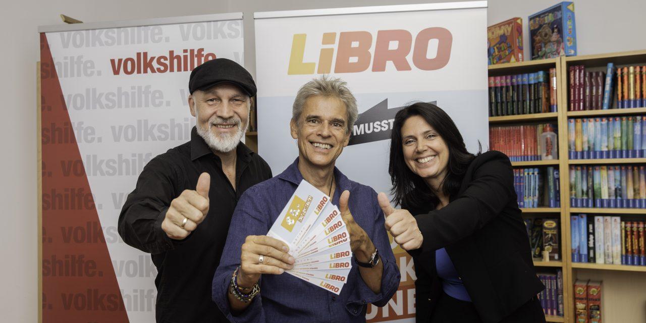 Volkshilfe und Libro: Unterstützung beim Schulstart mit Thomas Brezina