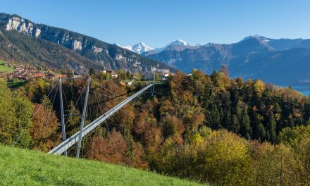 Hängebrücken in der Schweiz: über dem Abgrund wandern