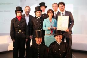 EFG Umwelt- und Klimawerkstatt GmbH gewinnt einen EMAS-Preis 2013 als beste Umweltmanager