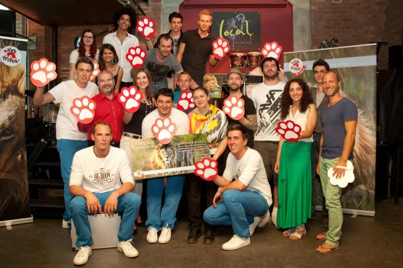 Drumartic gewinnt den VIER PFOTEN Bandcontest LIONS, ROCK!