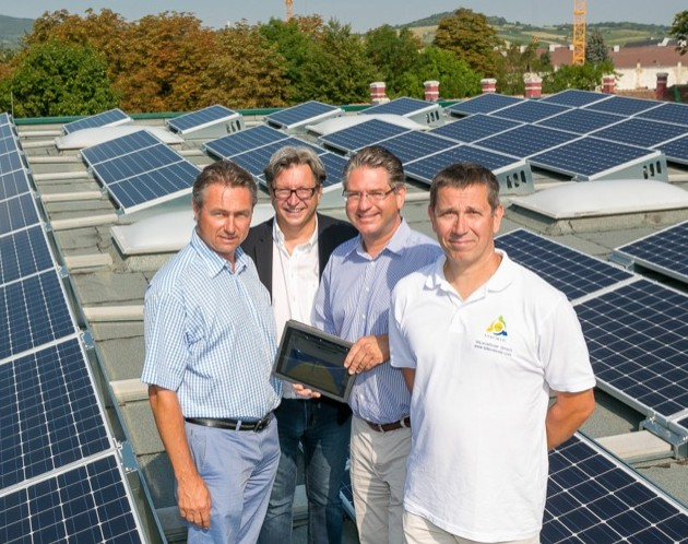 Guntramsdorf nimmt fünf eigene Solarkraftwerke in Betrieb