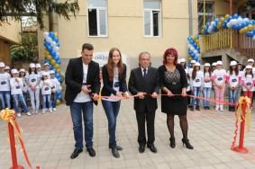 Die Lyoness Child & Family Foundation revitalisiert Schule in Mazedonien